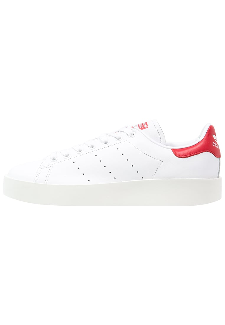 adidas Originals BOLD Tenisówki i Trampki white/collegiate red - KED53
