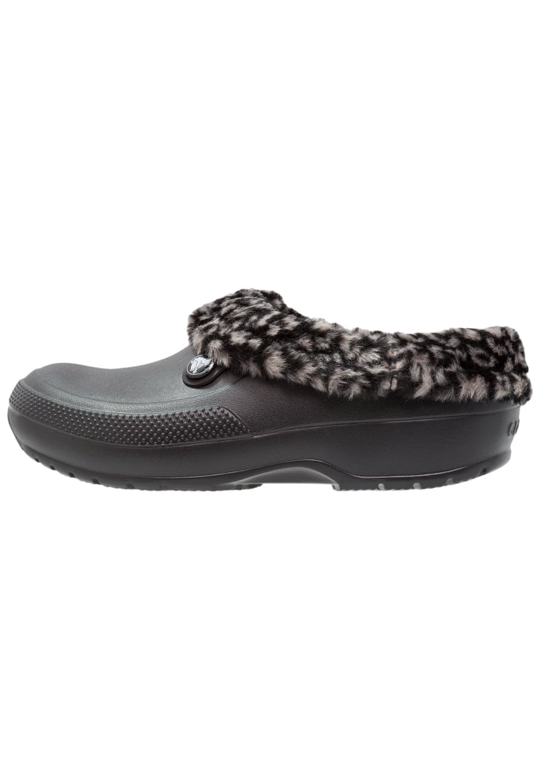 Crocs CLASSIC BLITZEN III ANIMAL Kapcie black