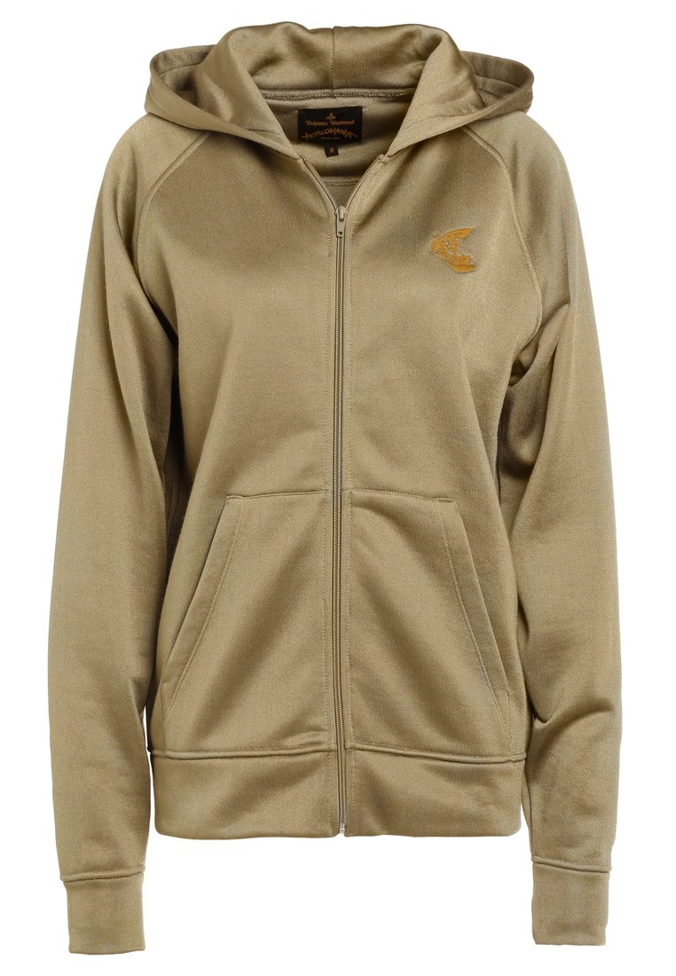 Vivienne Westwood Anglomania CLASSIC TRACKSUIT TOP Bluza rozpinana olive - 26020003 20466