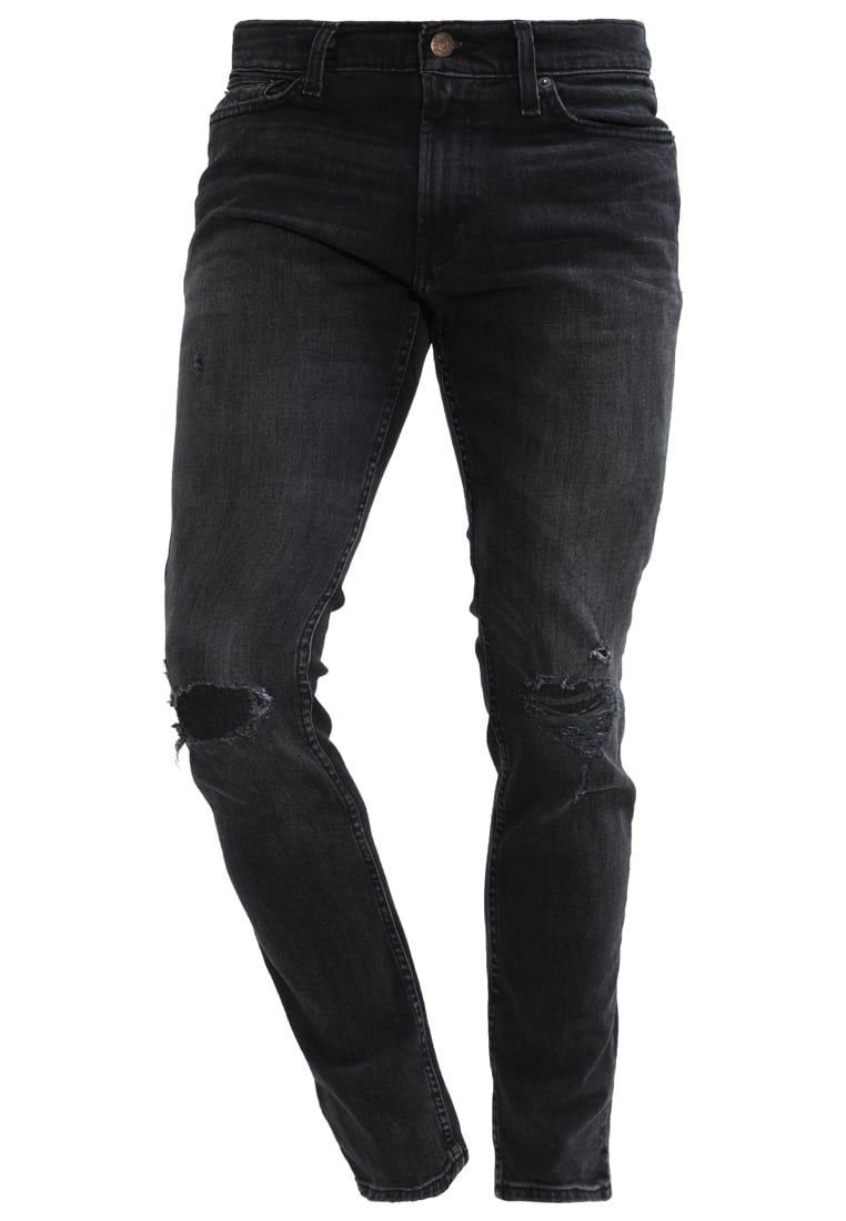 Hollister Co. Jeansy Slim fit black - KI331-7402