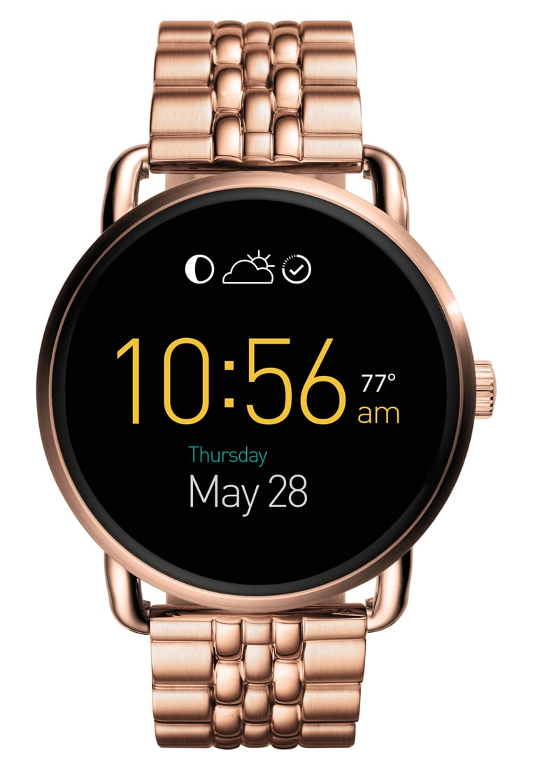 Fossil Q Q WANDER Zegarek cyfrowy rose goldcoloured - FTW2112
