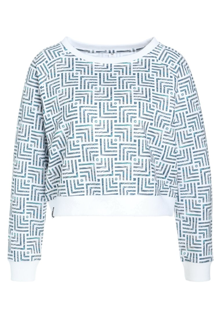 B ACTIVE by Beachlife CROPPED SWEATER Bluza tiles - 885108
