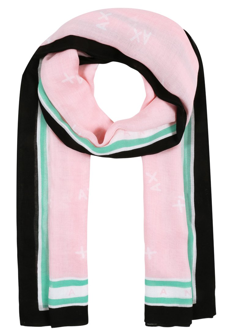Armani Exchange FOULARD Szal rose shadow/white/blue - 3ZY402 YAA6Z