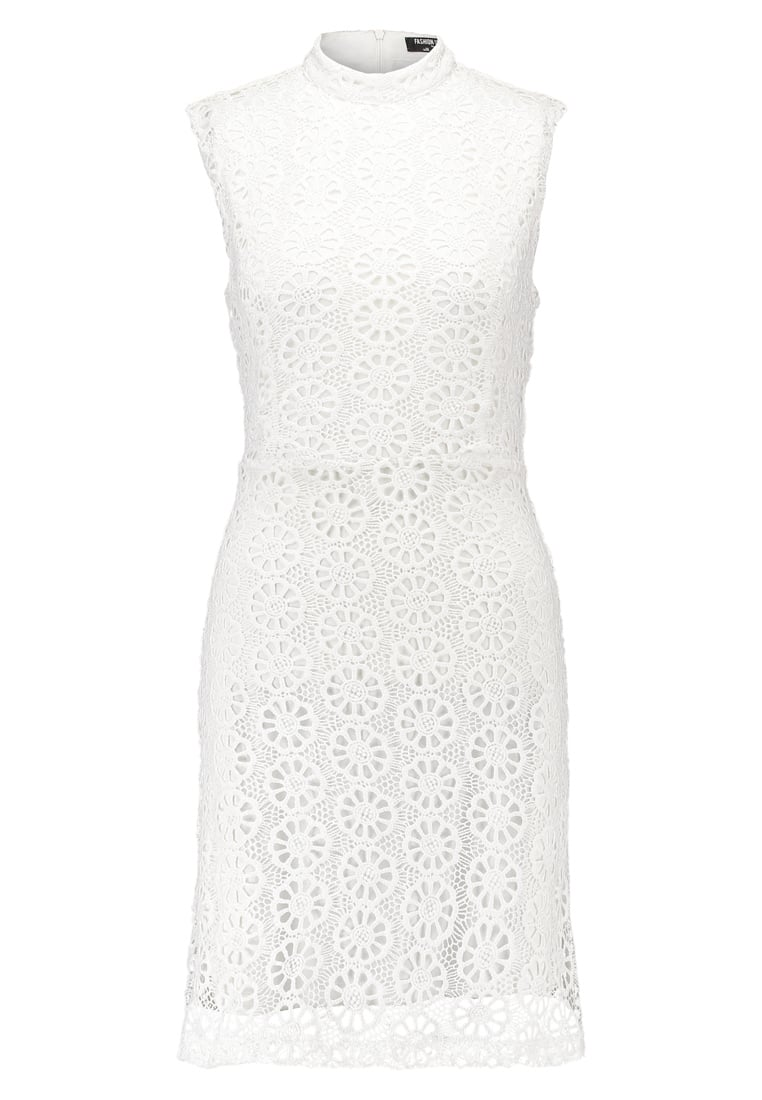 Fashion Union Tall HARDY Sukienka letnia white - TLW928