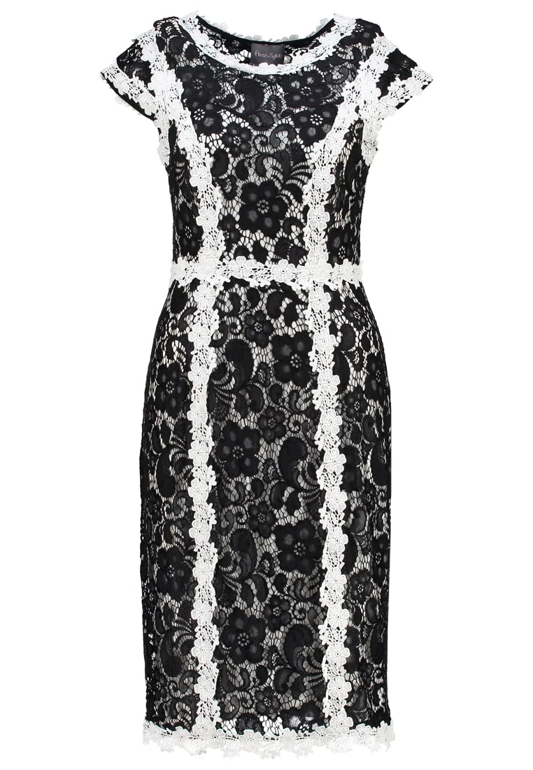Phase Eight HANAN Sukienka letnia black/ivory - 203759