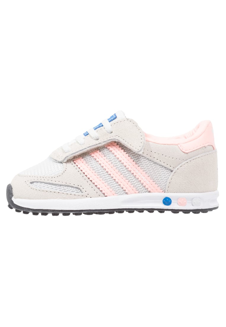 adidas Originals LA TRAINER Buty do nauki chodzenia vintage white/haze coral/clear brown - CEQ71