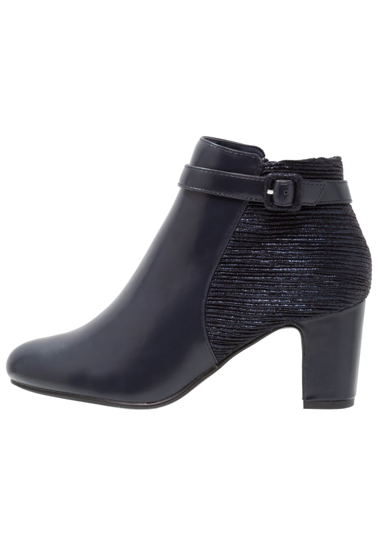 Divine Factory Ankle boot marine - TDF3113
