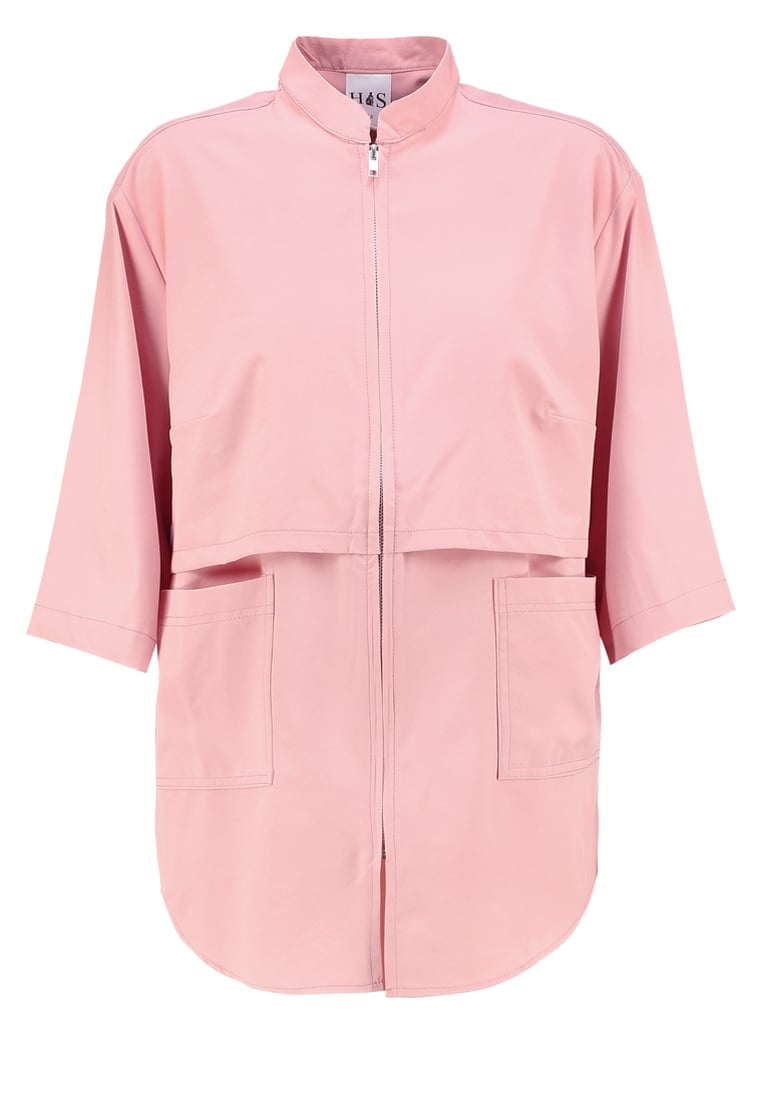 House of Sunny Kurtka wiosenna lust pink - Basic Up Shirt