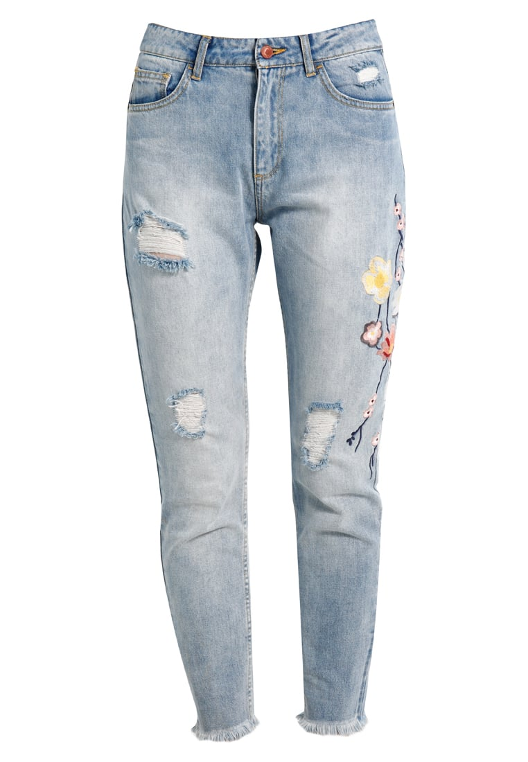 Jennyfer DRAWF Jeansy Relaxed fit sky blue - 10014557