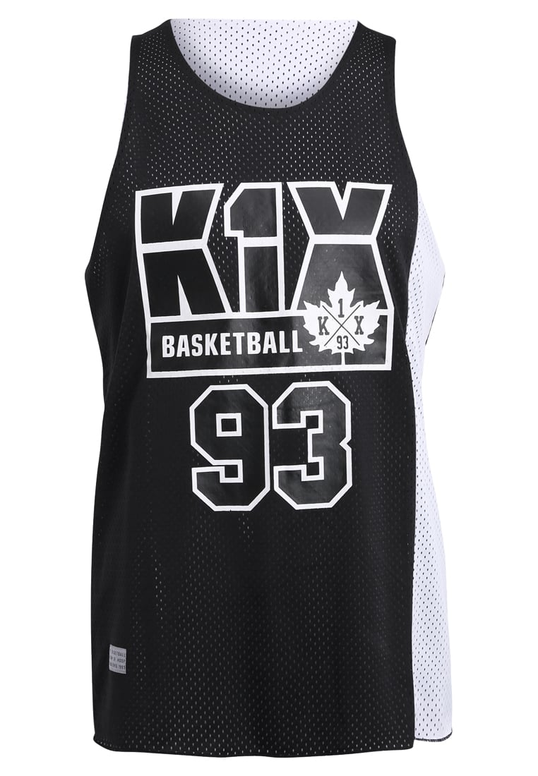 K1X BARCELONA REVERSIBLE Top black/white - 1161-4000