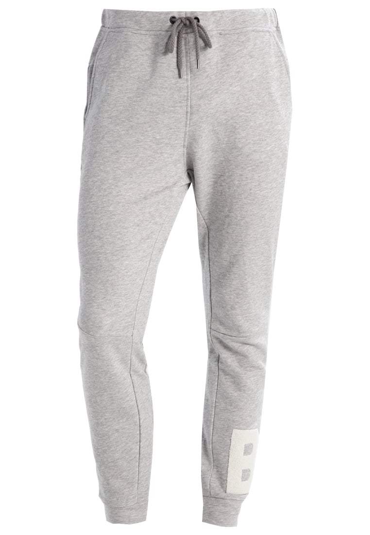 Björn Borg LENNY NARROW Spodnie treningowe light grey melange - 1711-1427