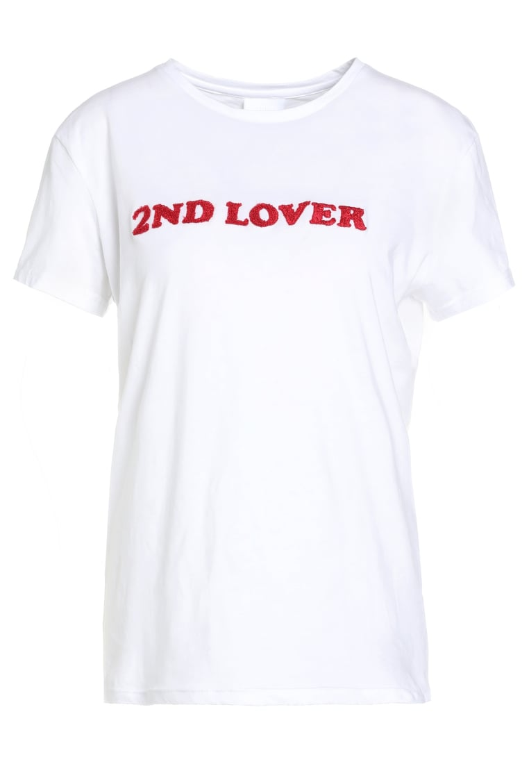 2nd Day 2ND LOVER Tshirt z nadrukiem star white - 6173240003