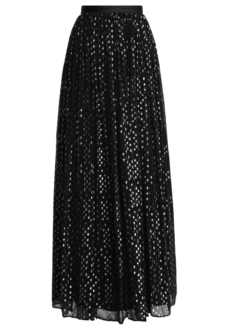 Needle & Thread Długa spódnica washed black - SK0004PS17