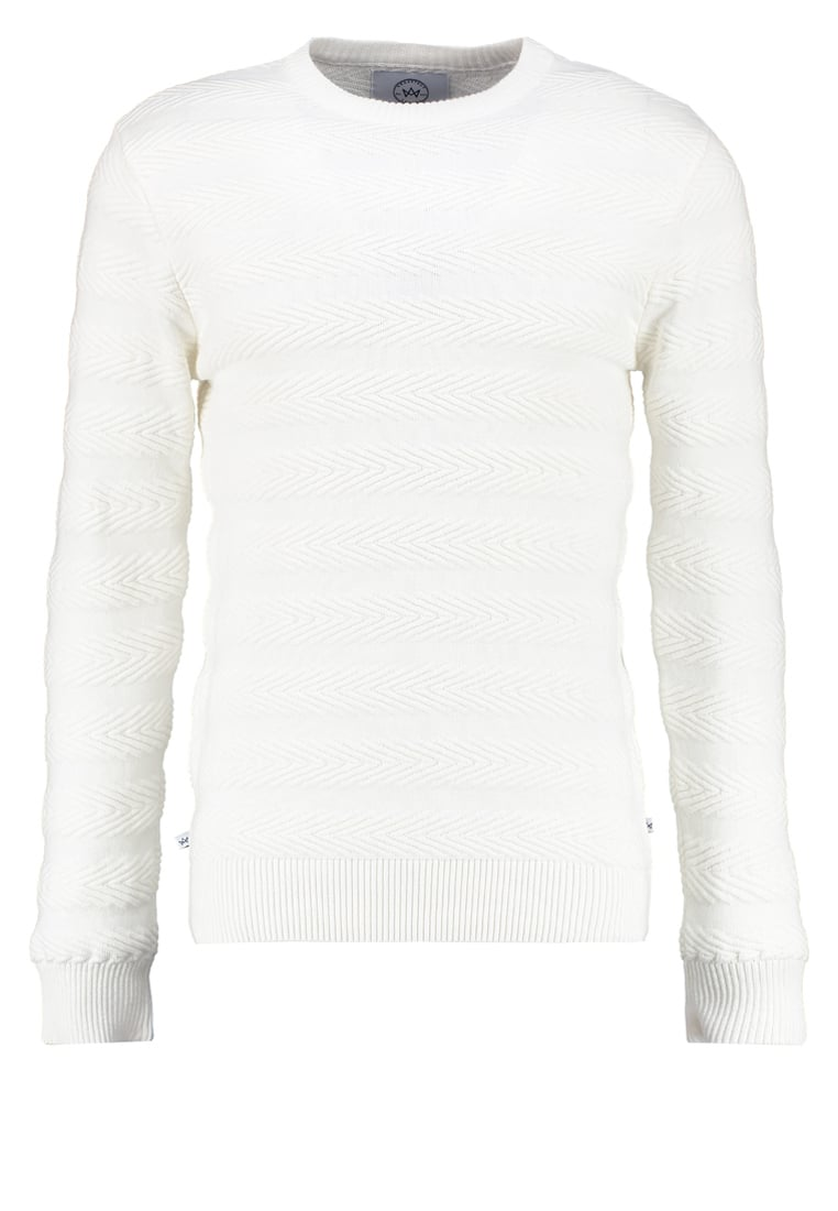 Kronstadt CLAUS Sweter off white - KS1247