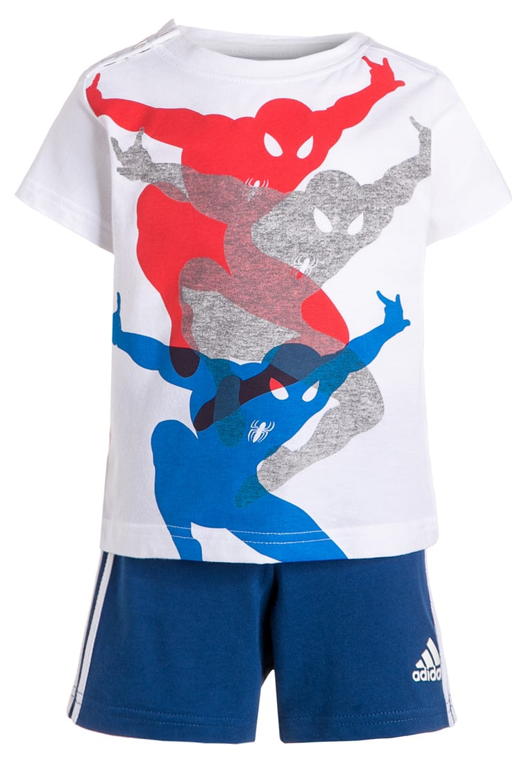 adidas Performance SPIDERMAN SET Dres white/blue/bold orange - BFR84