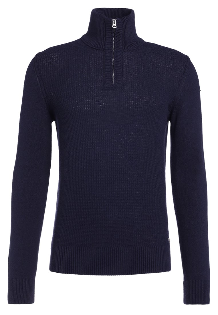 BOSS Orange ALMORE Sweter dark blue - 50373767
