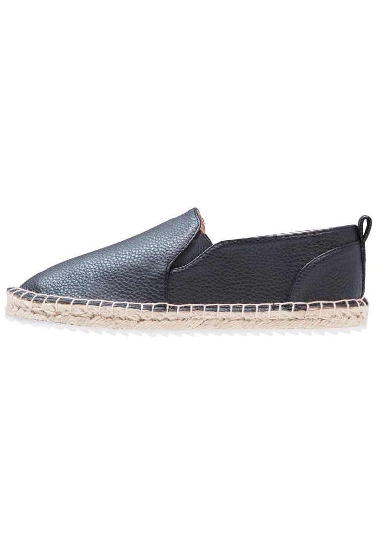 Head over Heels by Dune ELEENA Espadryle black - ELEENA