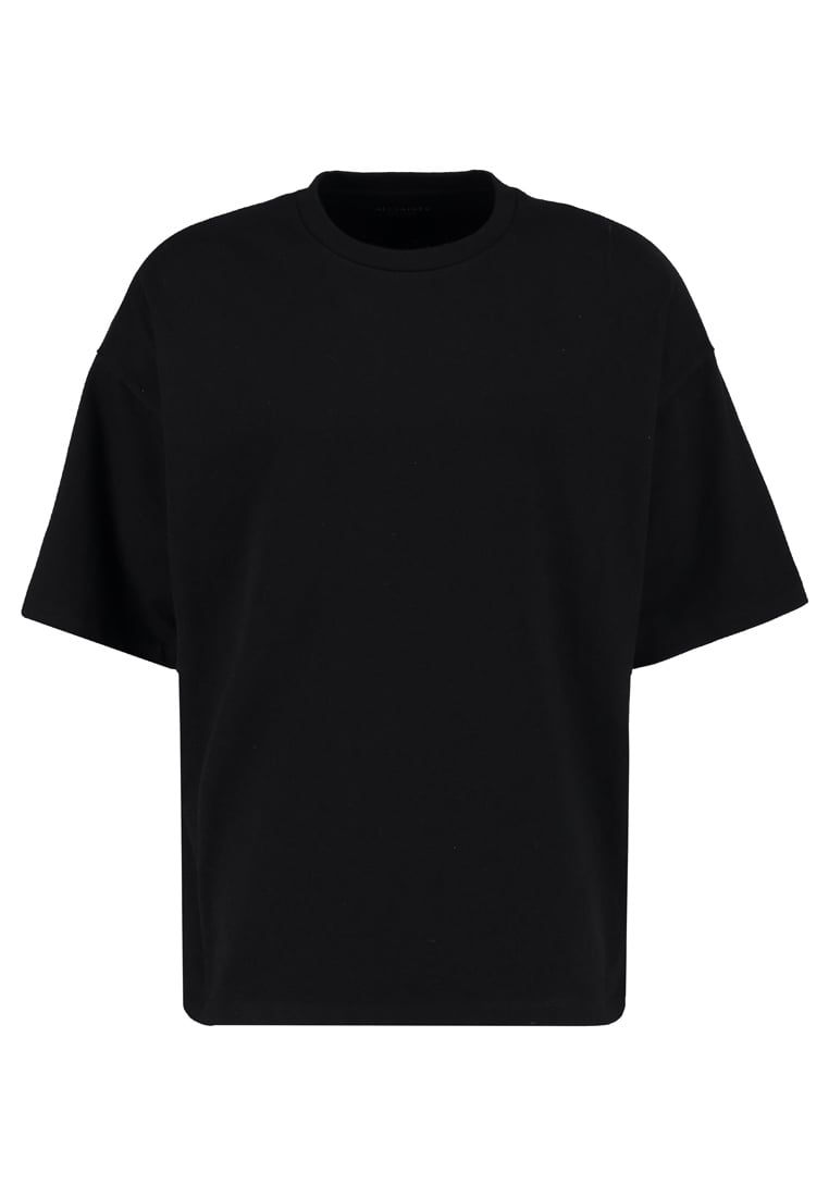 AllSaints IVON CREW OVERSIZED FIT Tshirt basic black - MD028L