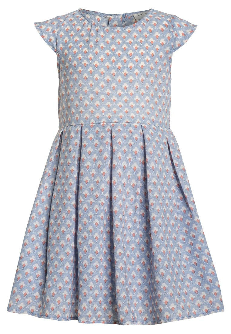 mint&berry girls Sukienka koktajlowa pale blue/white - MB03
