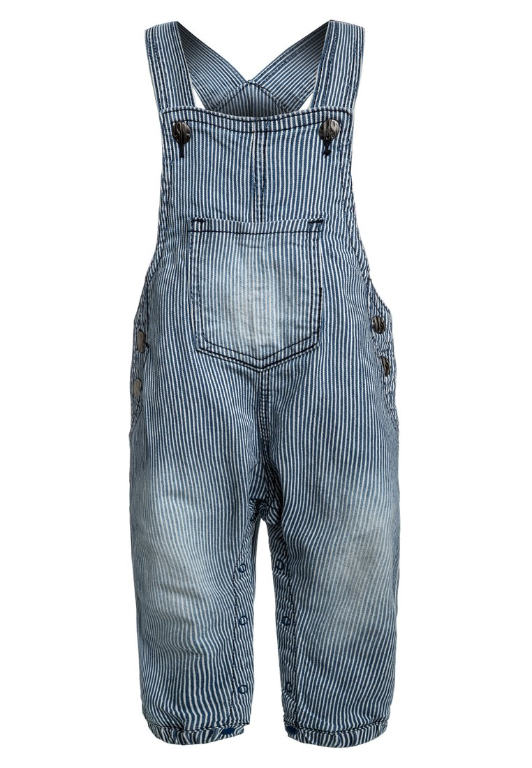 Hust & Claire DUNGAREE BABY Ogrodniczki blue - 39831533