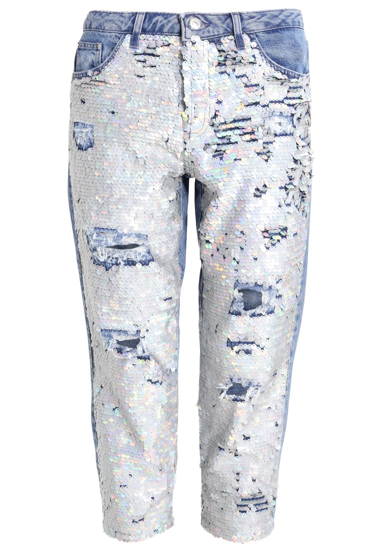 Topshop ARIEL HAYDEN Jeansy Relaxed fit middenim - 02H20KMDT