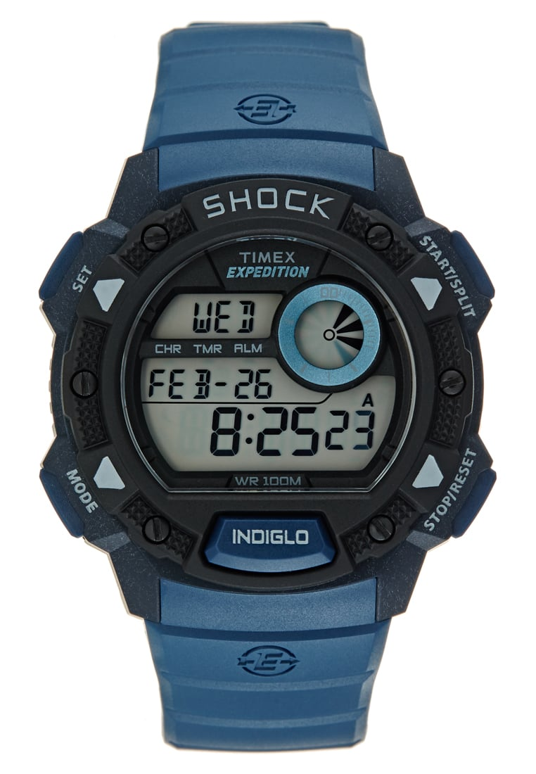 Timex EXPEDITION BASE SHOCK Zegarek blue - TW4B07400