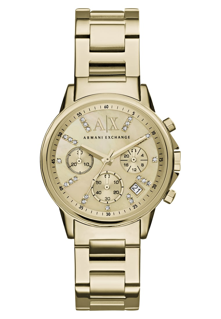 Armani Exchange Zegarek chronograficzny goldcoloured - AX4327