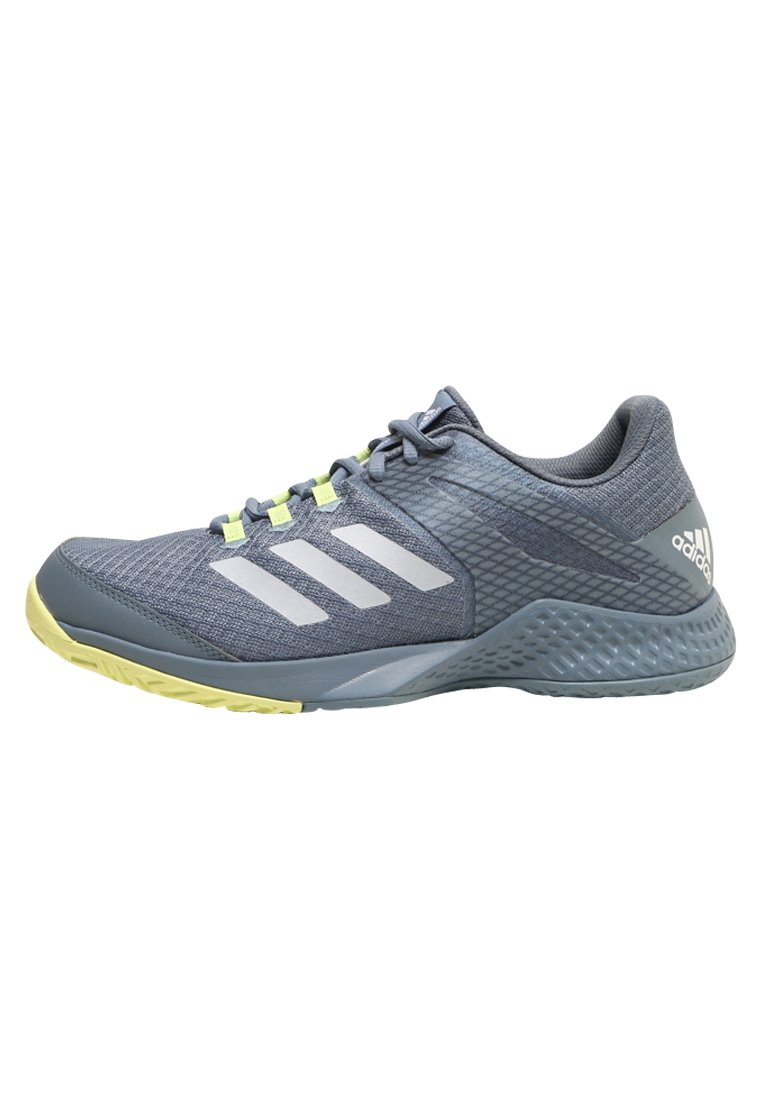 adidas Performance ADIZERO CLUB Buty multicourt raw grey/white/sefrye - CDA26