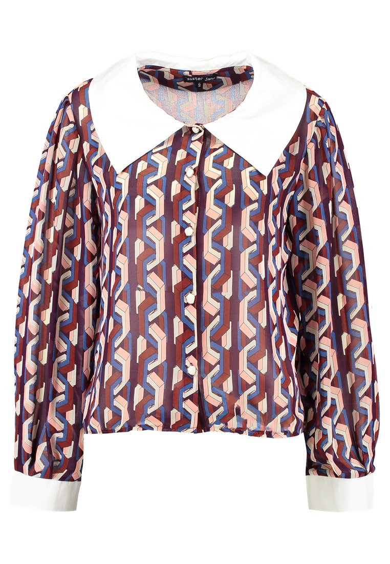 Sister Jane FIONA GEO BLOUSE Bluzka multicoloured - BL698MUL