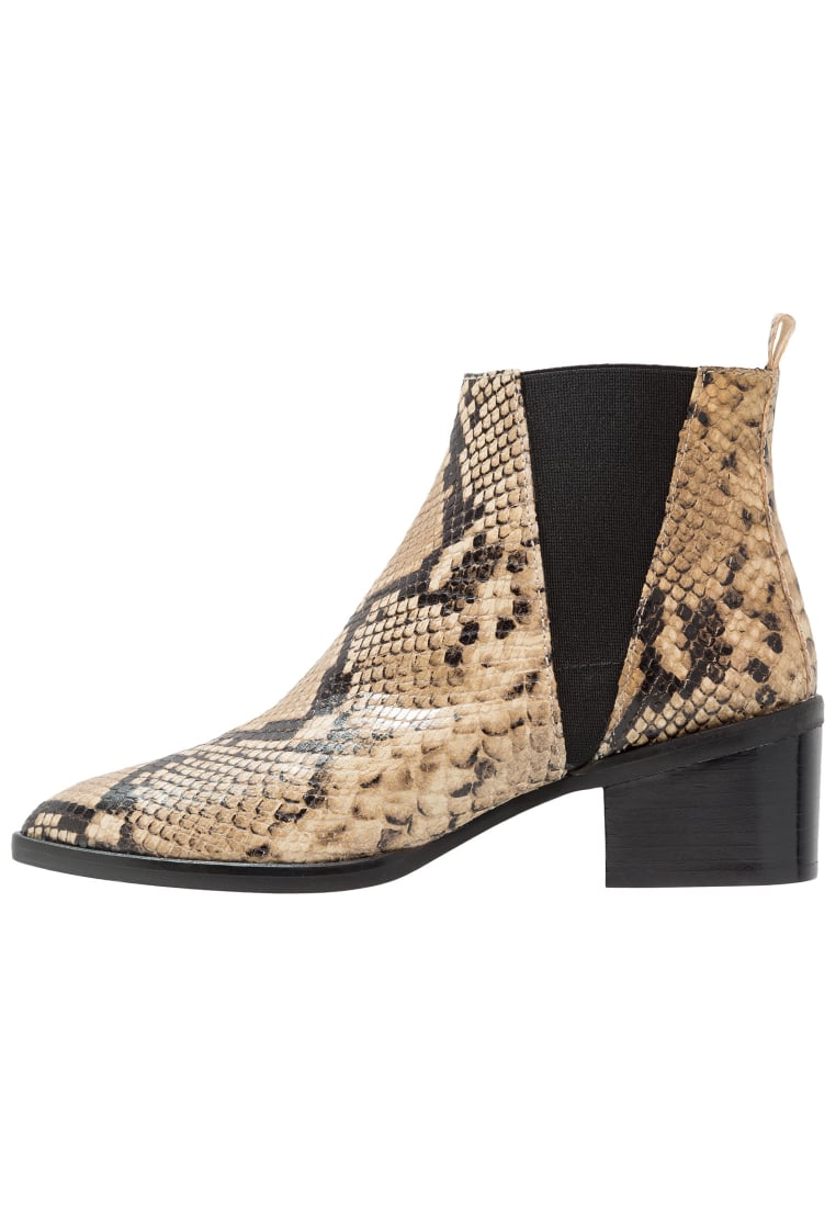 Whistles BELMONT Ankle boot black - BELMONT SNAKE BOOT