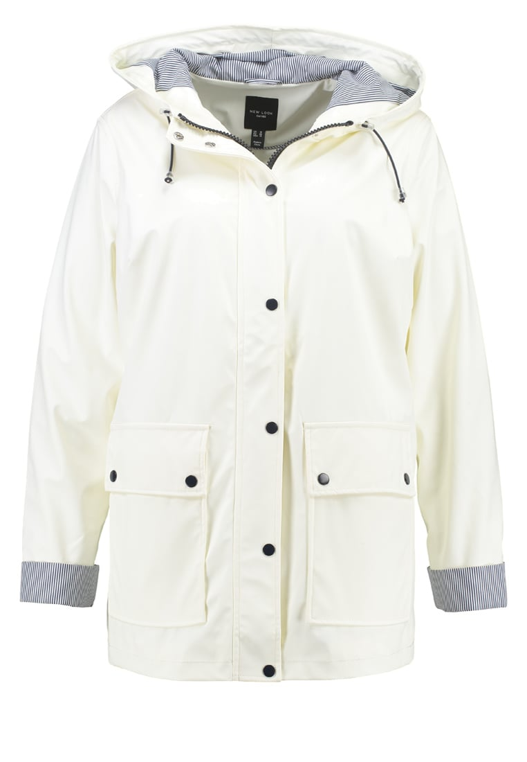 New Look Curves Parka white - 5137363