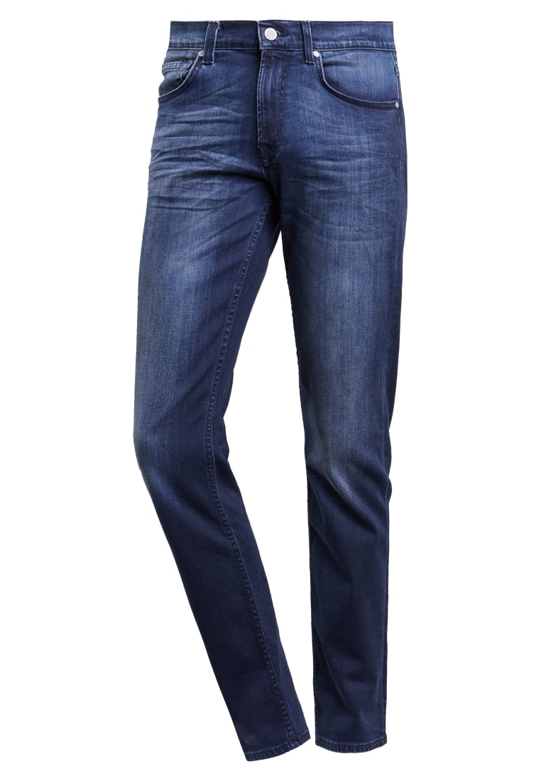 7 for all mankind SLIMMY Jeansy Slim Fit dunkelblau - SMSR460AI