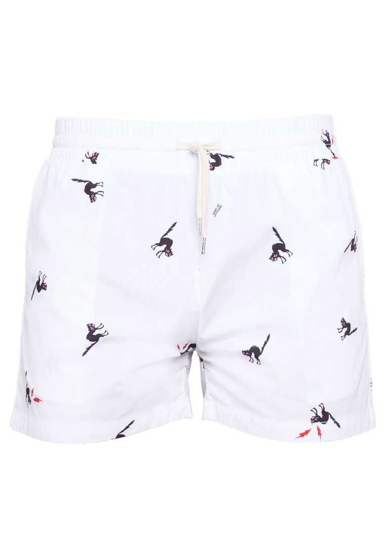 Band of Outsiders TRACK SHORTS Szorty sail white - CTS002CC102