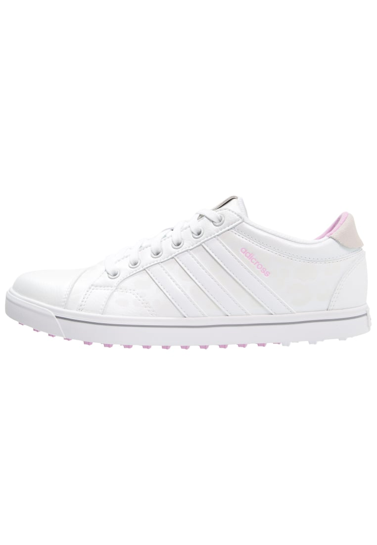 adidas Golf ADICROSS IV Buty do golfa white/wild orchid - F33340