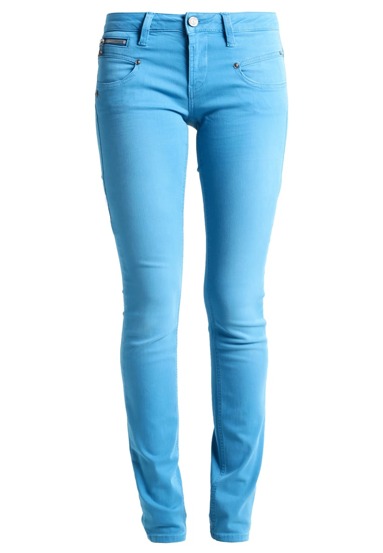Freeman T. Porter ALEXA Jeansy Slim fit caneel bay - Alexa Slim New Magic Color 00025638_NMC15