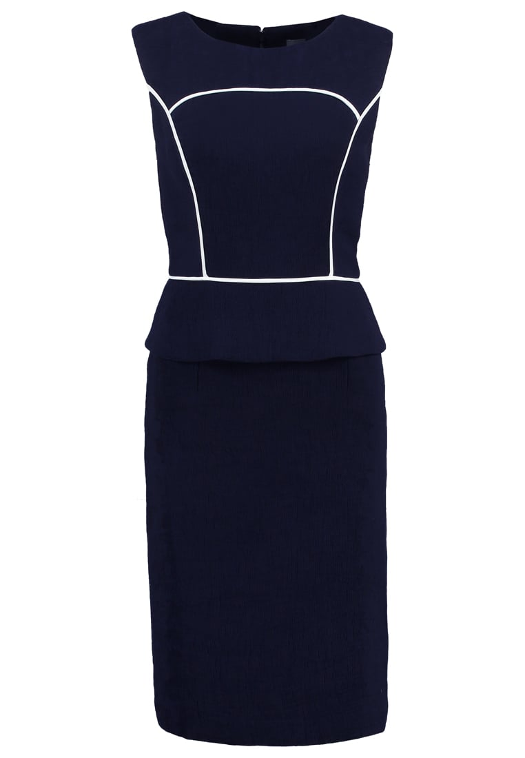 Phase Eight EDEBA Sukienka etui navy/ivory - 203862287