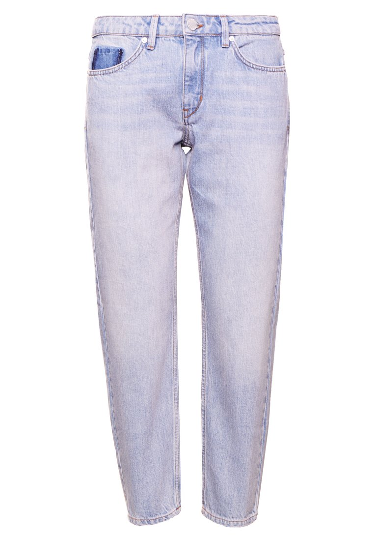 2nd Day STEVIE BRIGHT Jeansy Relaxed Fit indigo heavy enzym - 2182724306