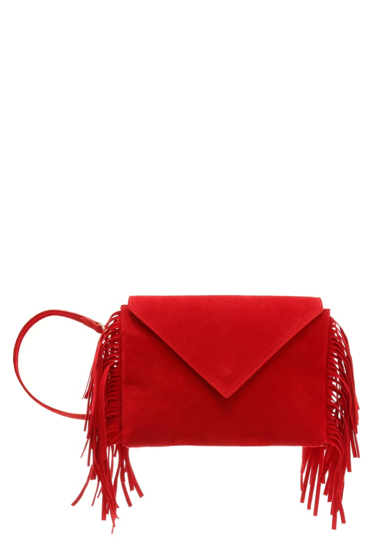 House of Cases Torba na ramię red - RED FRINGE