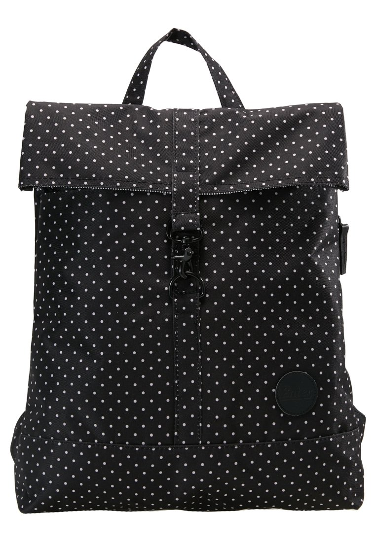 Enter CITY FOLD TOP BACKPACK Plecak black/white - A17LC1847_51