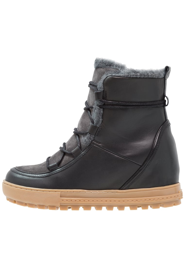 Aigle LAPONWARM Ankle boot black - P9899