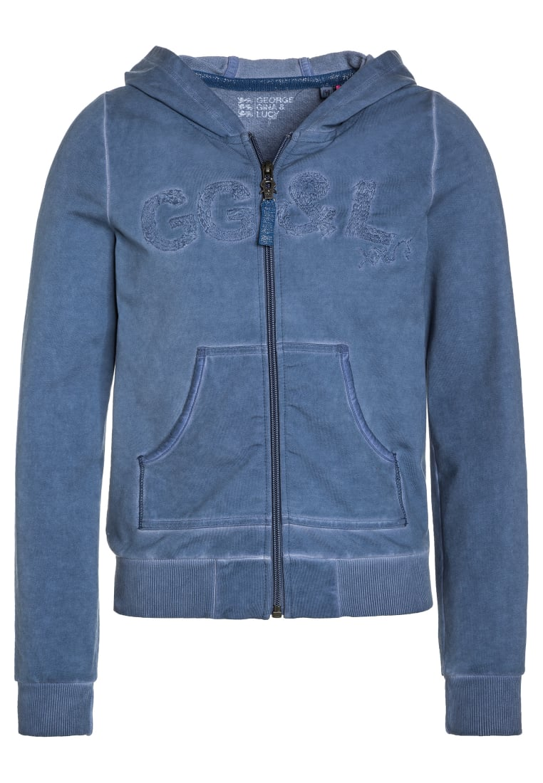 GEORGE GINA & LUCY girls BERLIN Bluza rozpinana denim love - 50200