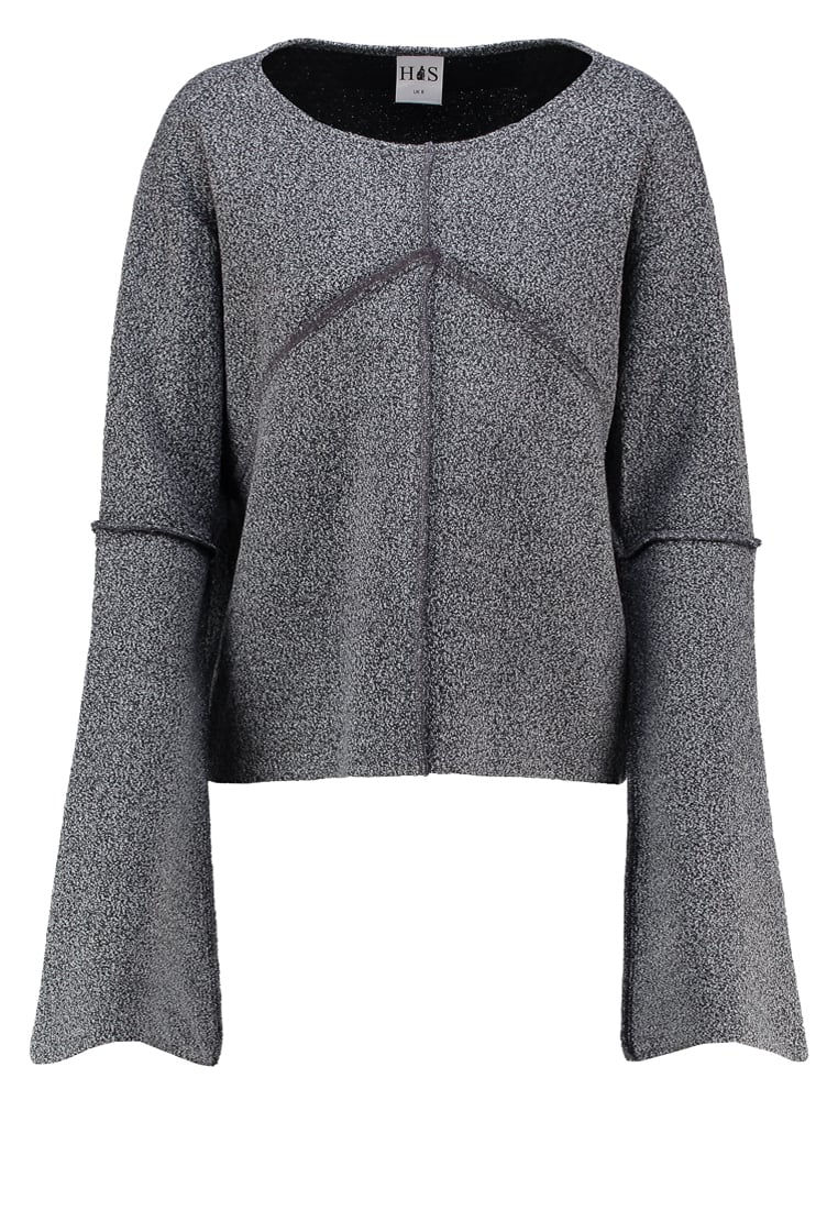 House of Sunny Bluza grey - Volume Jumper