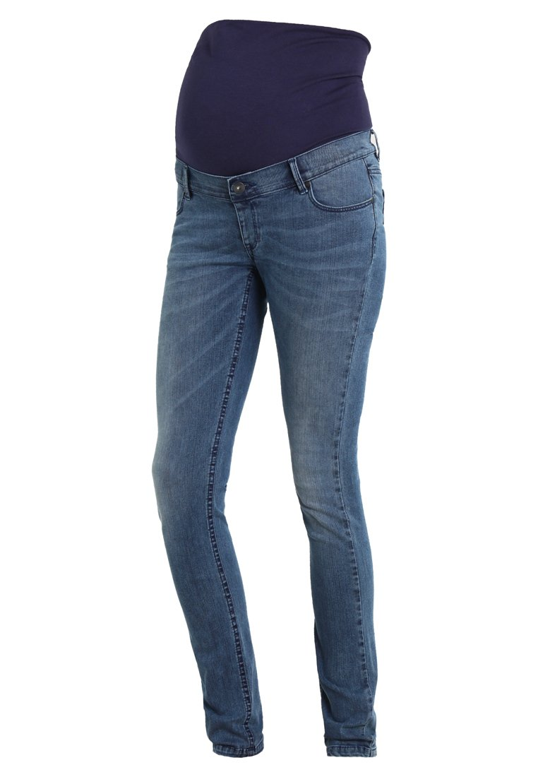 Noppies AVI LIGHT AGED Jeansy Slim Fit blue - 80101