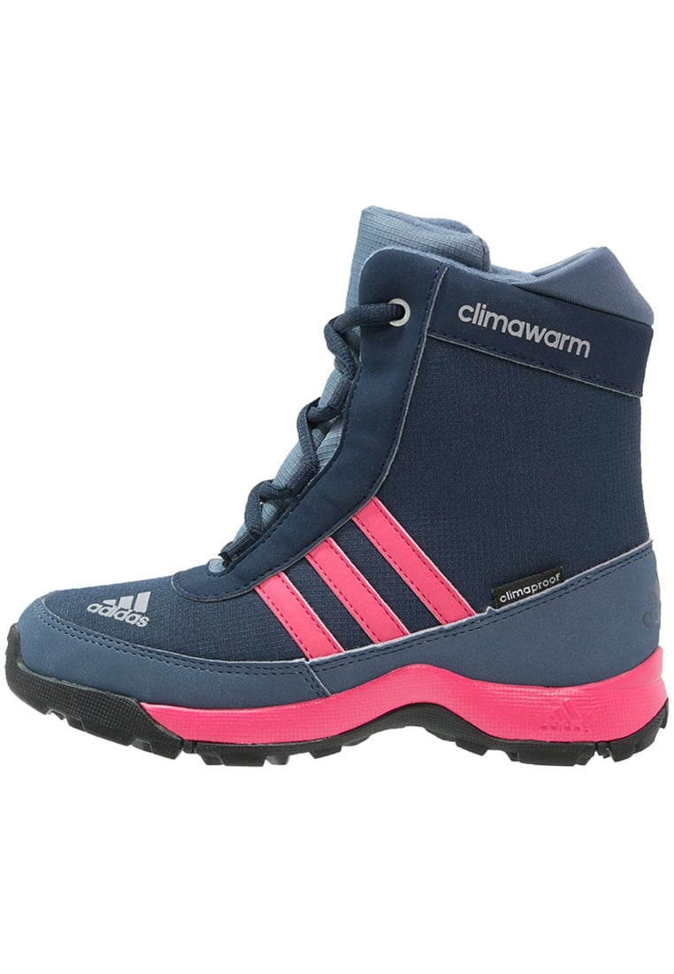adidas Performance CLIMAHEAT ADISNOW CLIMAPROOF Śniegowce collegiate navy/bahia pink/tech ink - IKN31
