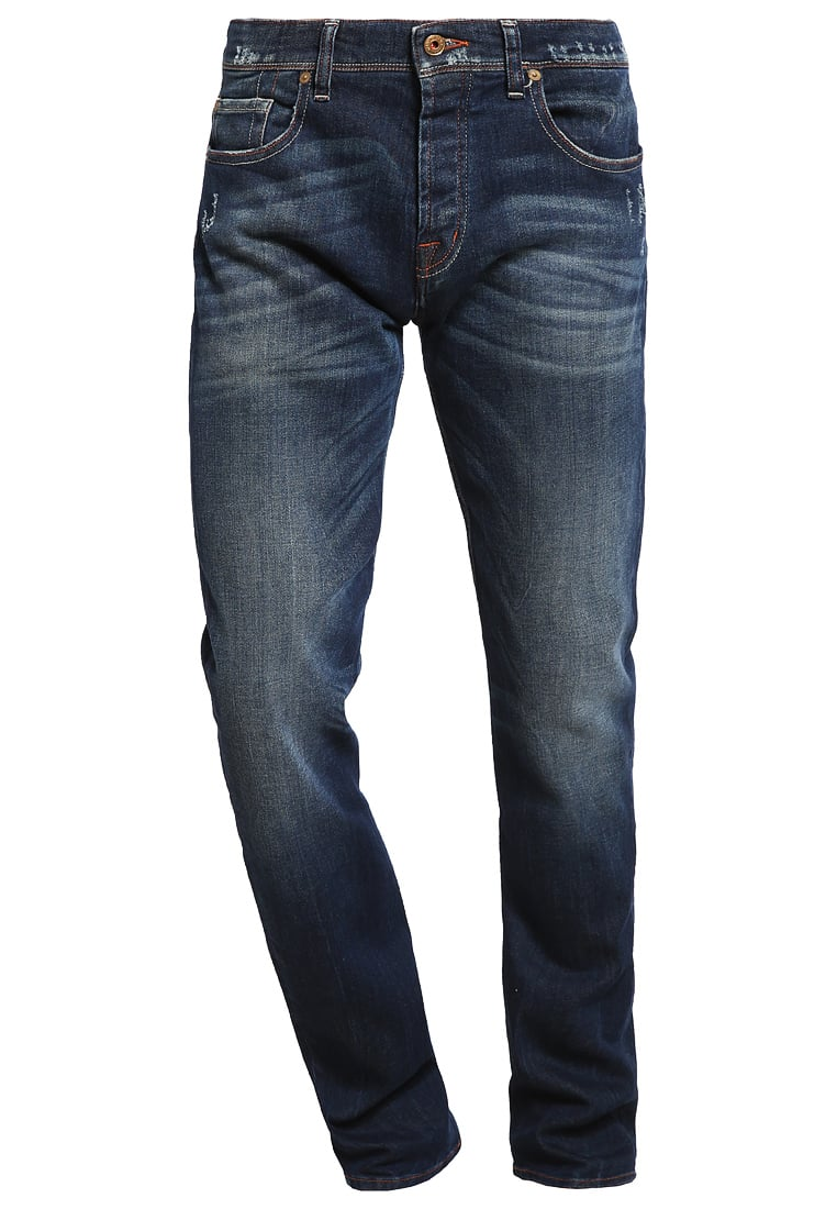 7 for all mankind CHAD Jeansy Straight leg blue - SD3R 14ESK