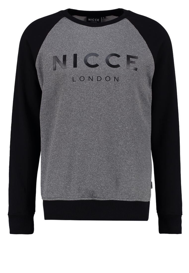 Nicce LINEAR Bluza grey/black - NC242