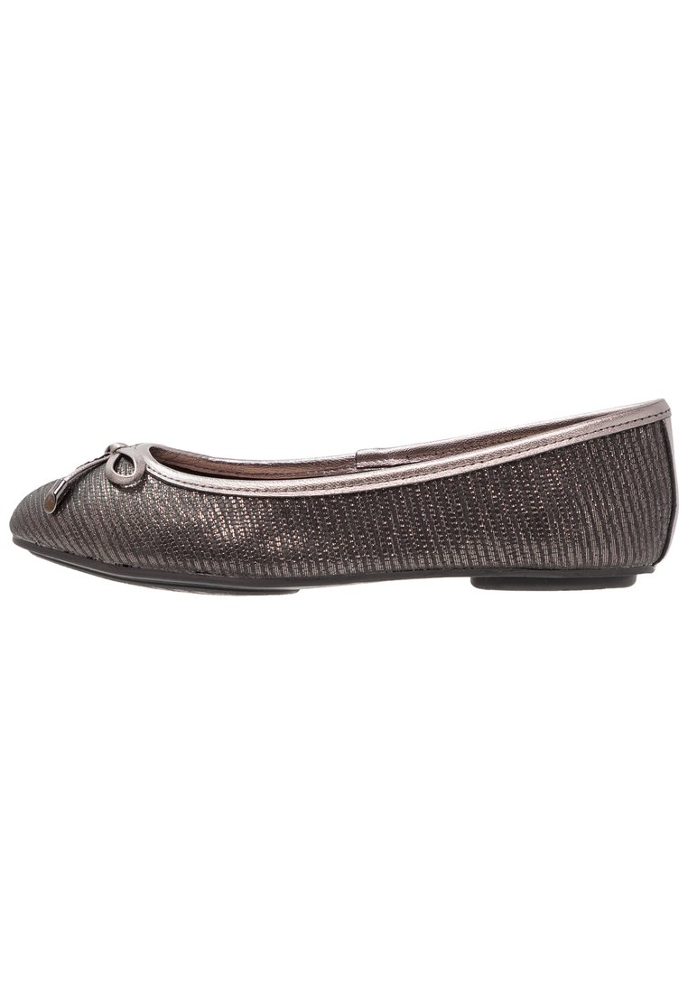 Dune London WIDE FIT WIDE FIT HYPE Baleriny pewter - 1173507510001507