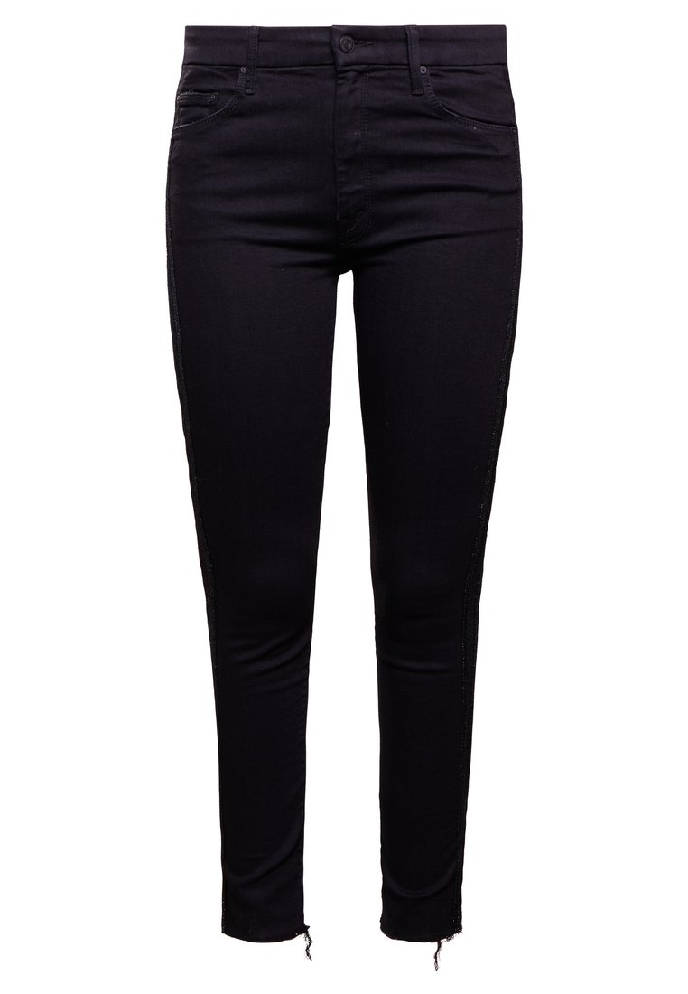 Mother LOOKER FRAY Jeansy Slim Fit black - 1411-180