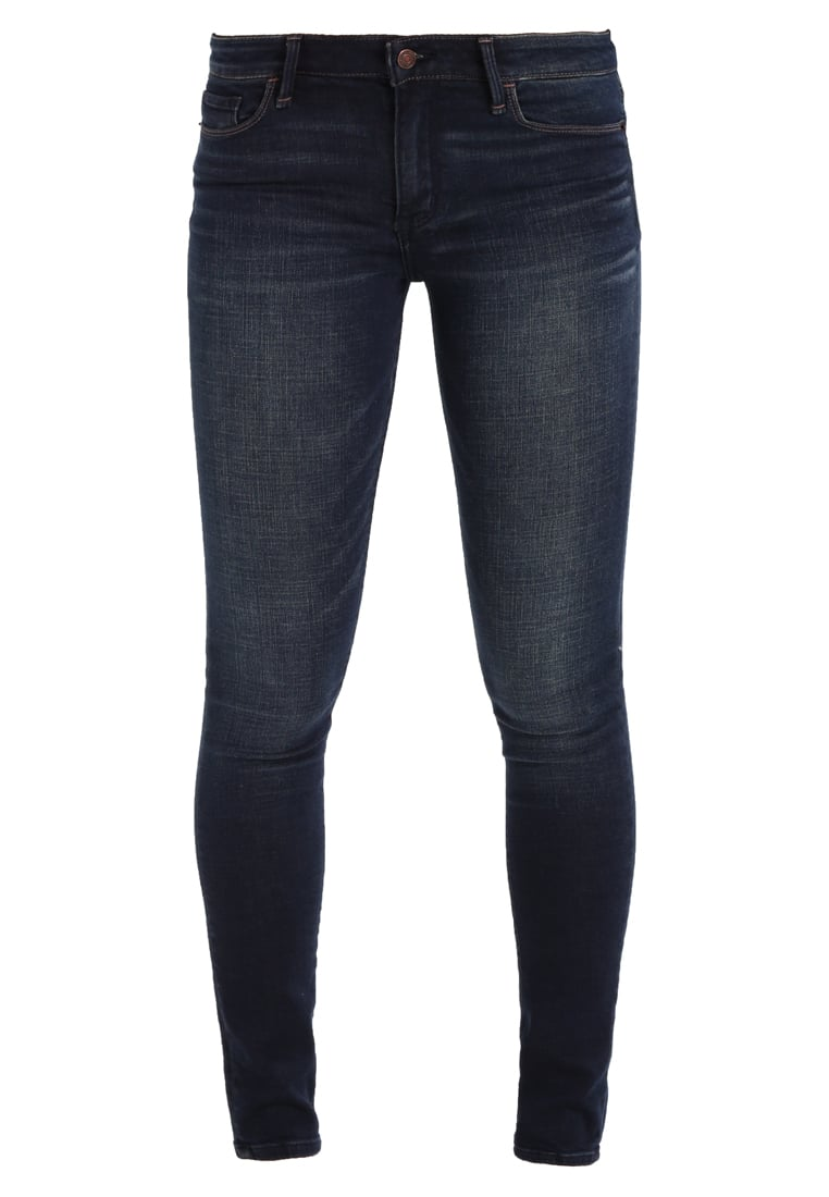 Abercrombie & Fitch CORE Jeans Skinny Fit dark - KI155-7226