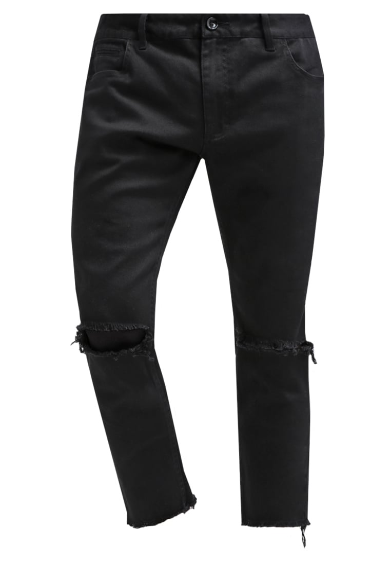 FAIRPLAY FIELDS Jeansy Straight leg black - F1601060
